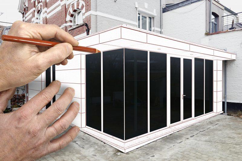 Tømrer udbygning